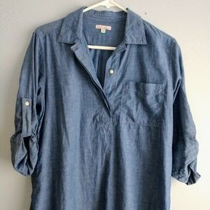 GAP chambray maternity tunic, sz S